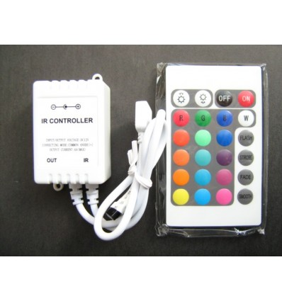 24 Key IR Remote LED Strip Controller