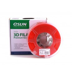 eSUN PLA+ Filament – 1.75mm Red 0.5kg