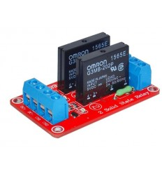 5V DC 2CH Solid State Relay - 2A/240V