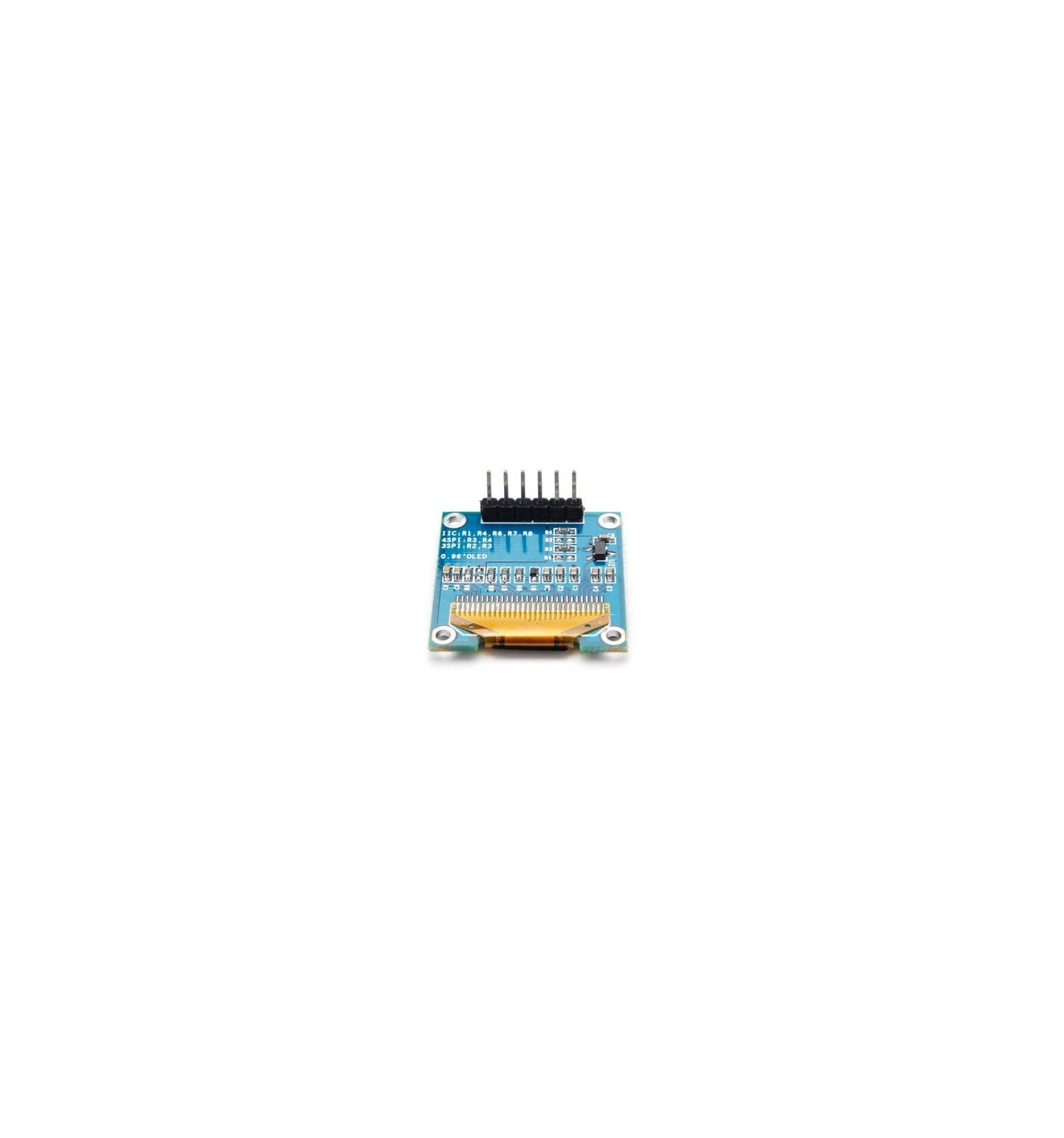 Oled display module white inch pin spi for