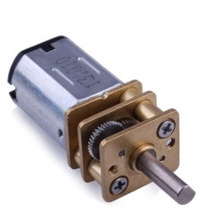 Mini Metal Geared DC Motor - 6V 30RPM
