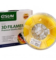 eSUN PLA Filament – 1.75mm Yellow Lemon Transparent