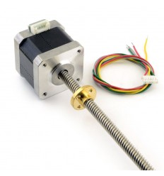 NEMA 17 Stepper Motor with Leadscrew - Tr8 480mm