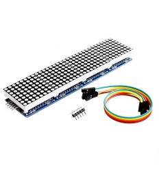 LED Dot Matrix Display Module 8x8 x4 MAX7219