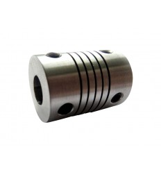 Flexible Aluminium Coupling 5mm to 5mm
