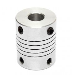 Flexible Aluminium Coupling (5mm/6.35mm)