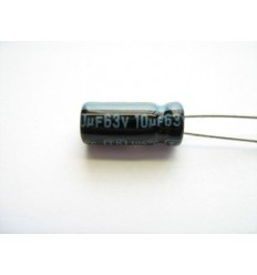 10uF 63V Electrolytic Capacitor
