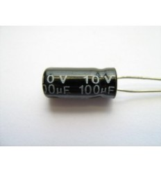100uF 10V Electrolytic Capacitor
