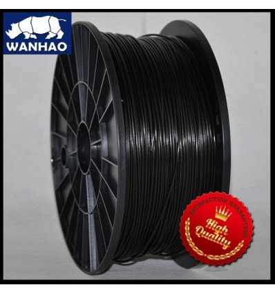 Wanhao Black ABS Filament - 1.75mm