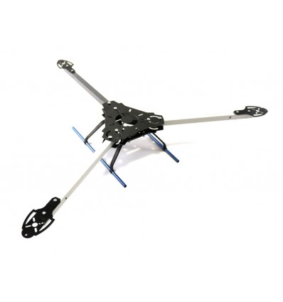 Y600 Fibre Glass and Aluminium Tri Axis Tricopter Frame Kit