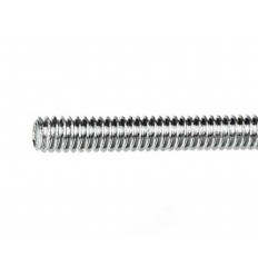 Threaded Steel Rod Diam: 8mm x 1M Galvanised