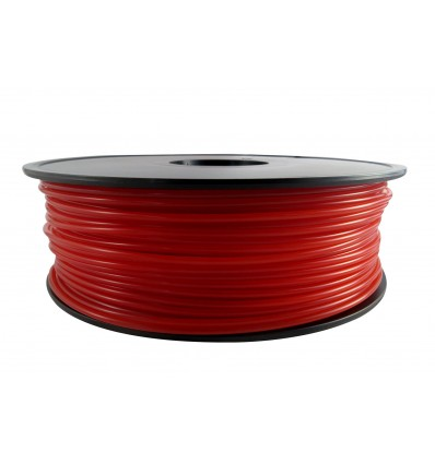Red Transparent PLA 3mm 1kg