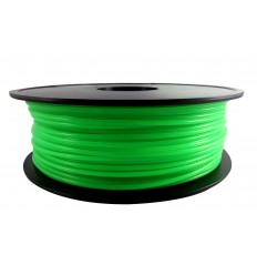 Green Transparent PLA 3mm 1kg