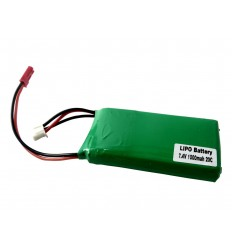LiPo Battery 7.4V 1000mAh 20C 2cell