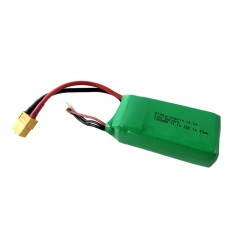 LiPo Battery 11.1V 1300mAh 25C 3cell