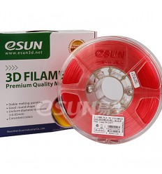 eSUN PLA Filament - 1.75mm Red Watermelon Transparent