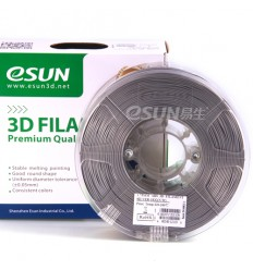 eSUN ABS Filament - 1.75mm Silver 0.5kg
