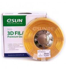 eSUN ABS Filament - 1.75mm Gold 0.5kg