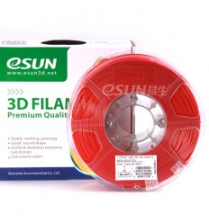 Red ABS 1.75mm 1kg ESUN