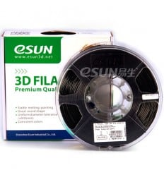 Black PLA 1.75mm 1kg ESUN