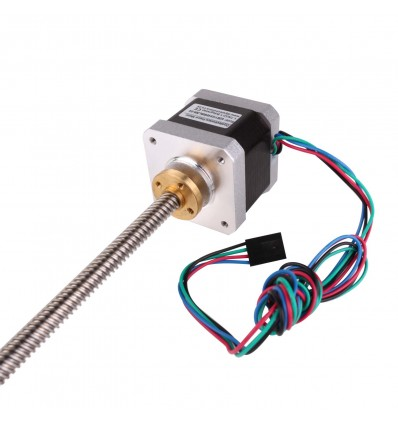 NEMA 17 Stepper Motor with Leadscrew - Tr8x300 - Cover
