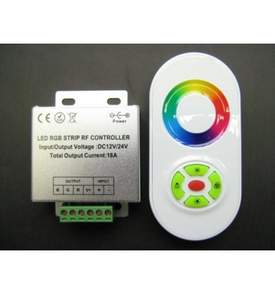 Touch RF/Wireless RGB Controller