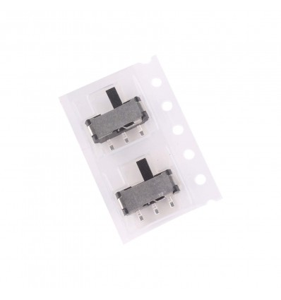 Toggle Switch - SPDT, On-On, 12V, 50mA - SMD - Cover