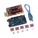 RAMPS 1.4 Kit with Arduino Mega & 5x A4988