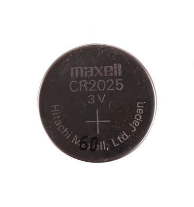 CR2025 3V 150mAh Lithium Coin Cell Battery - Cover