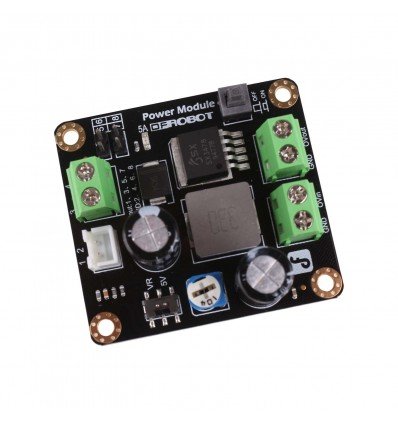 DC-DC Step-Down Buck Module - 25W Max, Adjustable Output - Cover