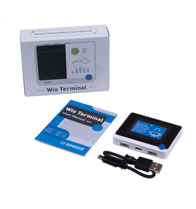 Wio Terminal D51R: ATSAMD51 MCU with Realtek WiFi & BLE 5.0 - Cover