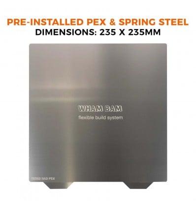 Wham Bam PEX Preinstalled Flexi Plate - 235x235mm - Cover