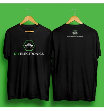 DIYElectronics SWAG - T-Shirt: X-Small - Cover