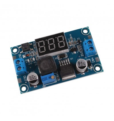 LM2596 DC-DC Voltage Regulator Adjustable Power Supply Module With Display - Cover