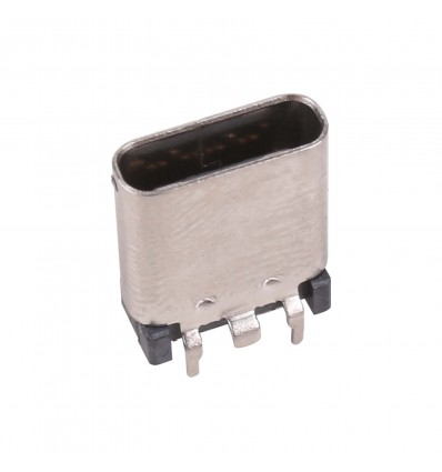 USB Type-C Board Mount Connector - Female SMD - Cover