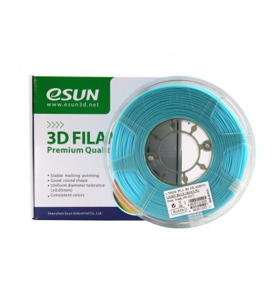 eSUN PLA+ Filament - 1.75mm Light Blue