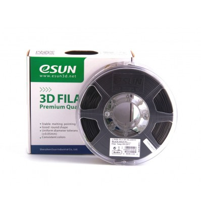 eSUN PLA+ Filament - 1.75mm Black 0.5kg
