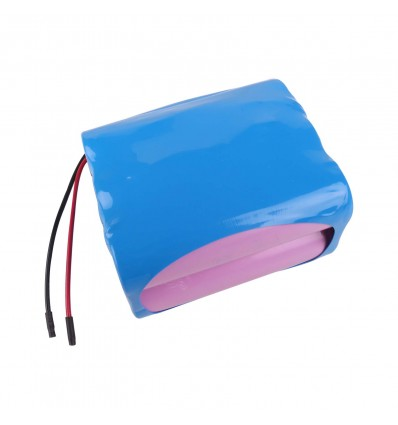 RS PRO Li-Ion Battery Pack 11.1V 5200mAh 6C 3S2P - With Leads, Squared - Cover