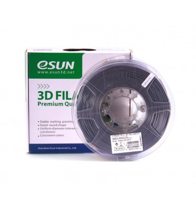eSUN PLA+ Filament - 1.75mm Grey