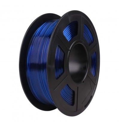 SunLu PETG Filament - 1.75mm Transparent Blue - Cover