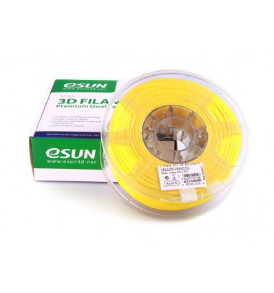 eSUN PLA+ Filament - 1.75mm Yellow