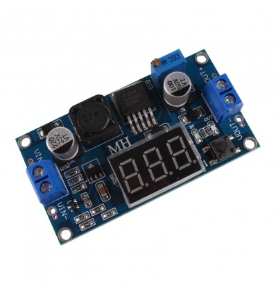XL6009 4.5-32V To 5-35V Adjustable Step-Up Boost Module With Display - Cover