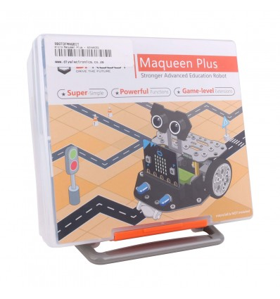Micro:Maqueen Plus - Advanced STEM Educational Robot for Micro:bit - Cover