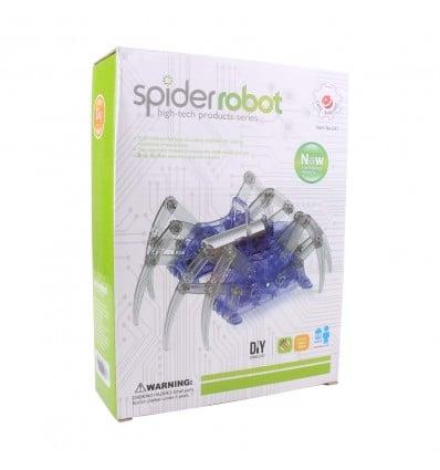 DIY Spider-Bot Robotics Platform for Learning - Cover