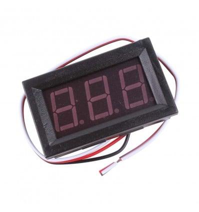 Voltage Meter Display, 0-100V - Cover