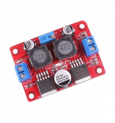 DC-DC Switchmode Buck Boost Module - LM2596&LM2577 - Cover