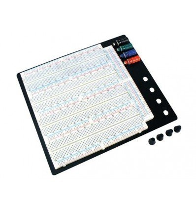 3220 Tie Point Solderless Breadboard