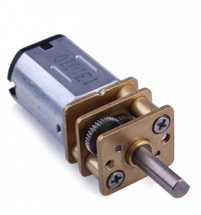 Mini Metal Geared DC Motor |  6V 30RPM