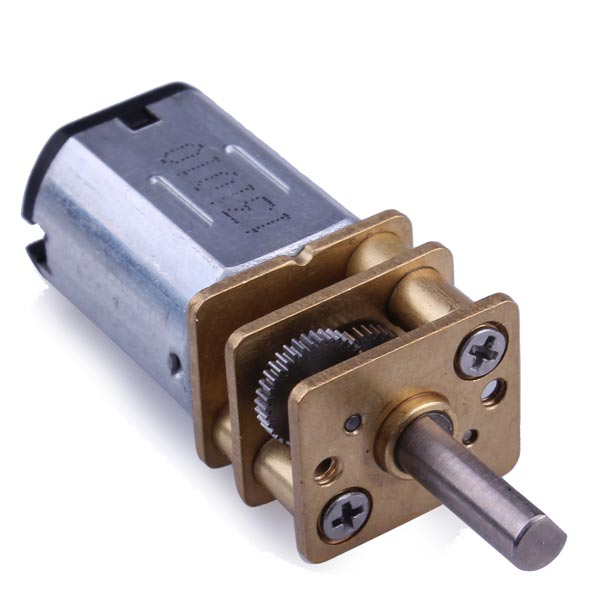Mini Metal Geared DC Motor - 6V 30RPM | DIYElectronics