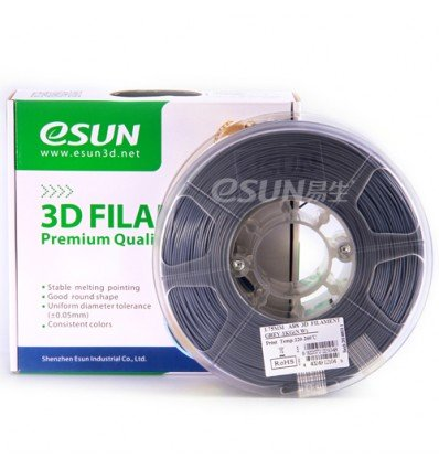 eSUN PLA Filament - 1.75mm Grey 0.5kg